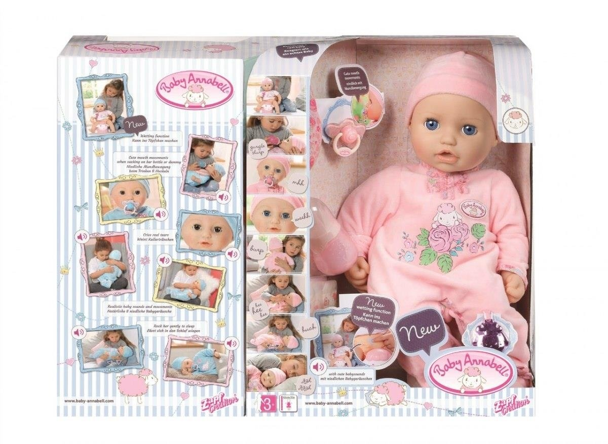 BABY ANNABELL LALKA FUNKCYJNA 43CM