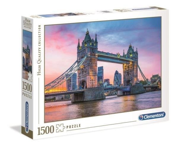 Clementoni Puzzle 1500el Tower Bridge 31816