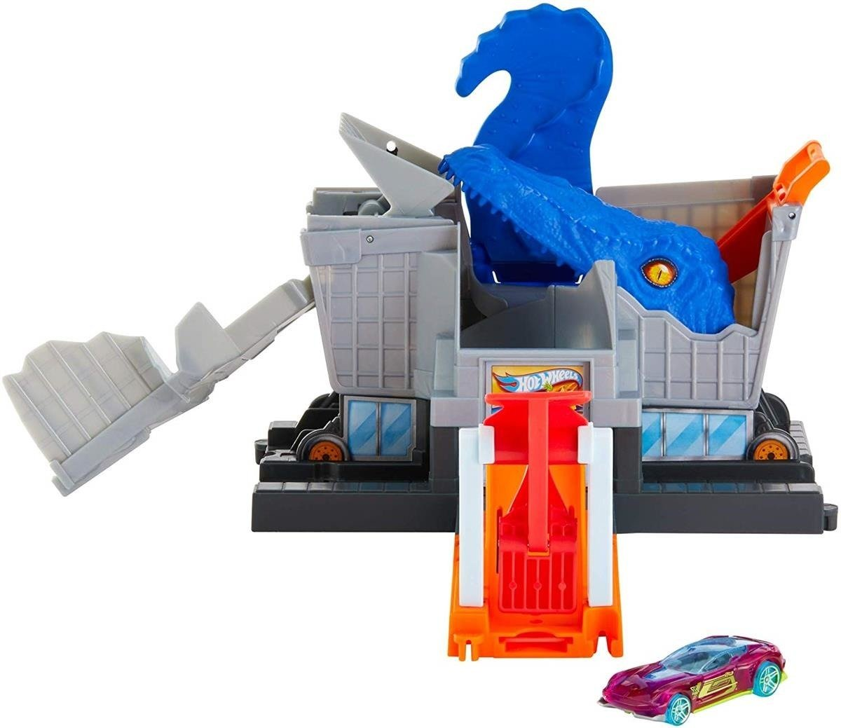 HOT WHEELS CITY Atak T-Rexa Na Supermarket