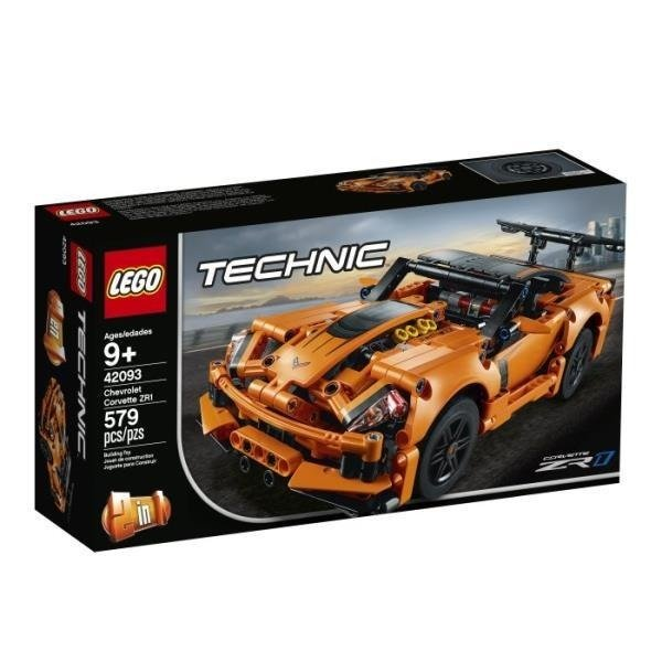 LEGO 42093 TECHNIC Chevrolet Corvette ZR1 p.4