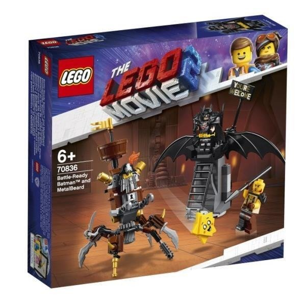 LEGO 70836 MOVIE Batman™ i Stalowobrody p.8