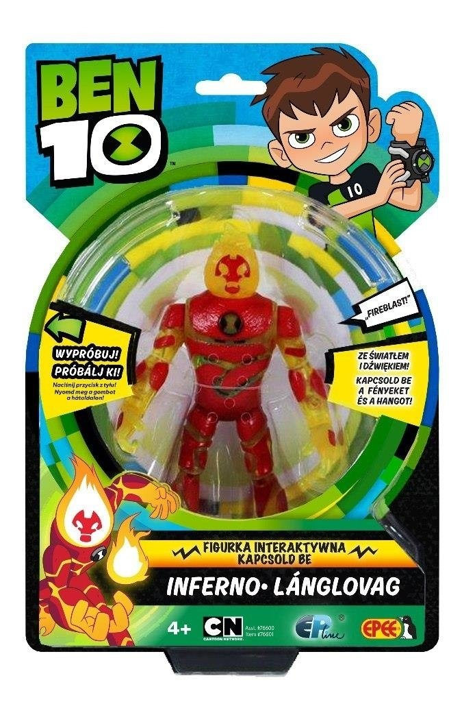 OUTLET EPEE BEN 10 FIGURKA Delux 15CM Inferno
